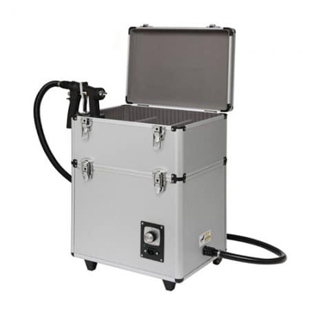 mobile air brush tan machine