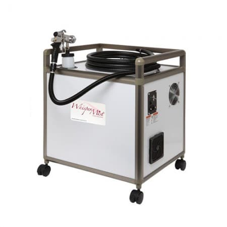 whisper mist airbrush tanning machine